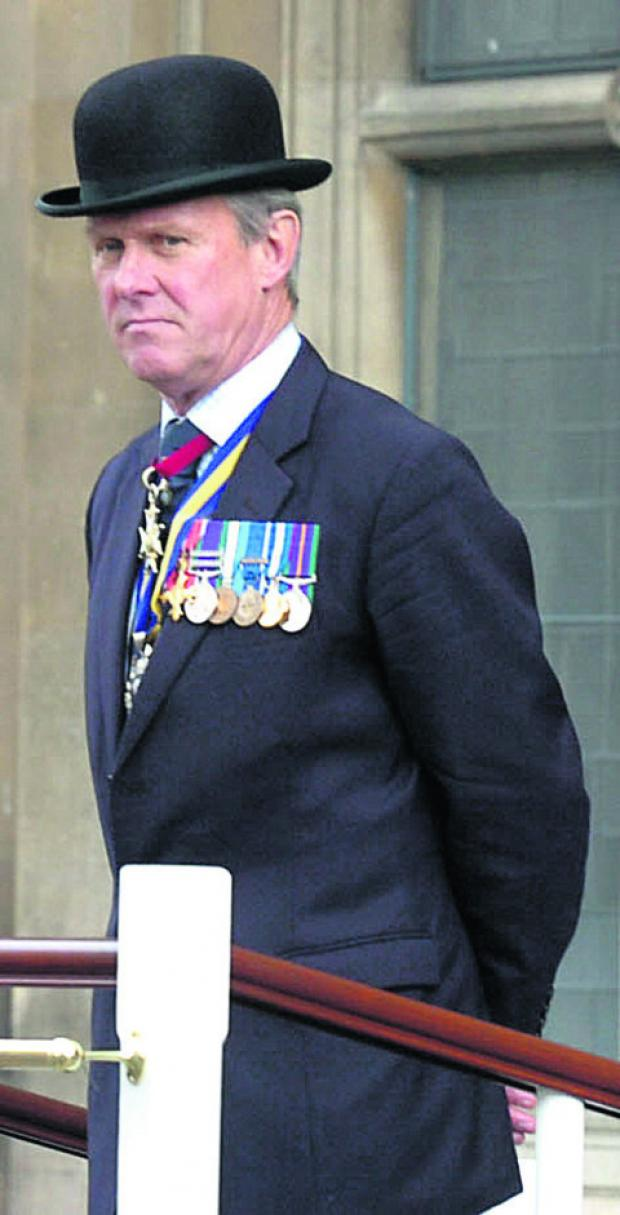 Sir Jack in his role as county British Legion president