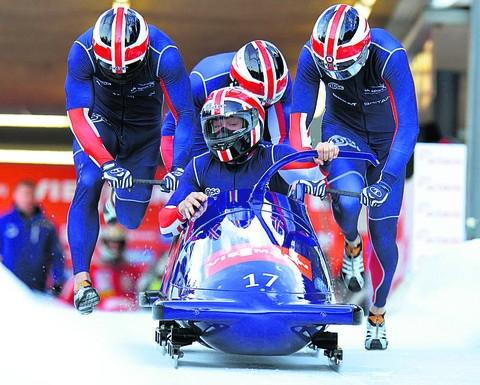 John Jackson's Great Britain 1 four-man crew claimed consistent top-10 finishes this winter