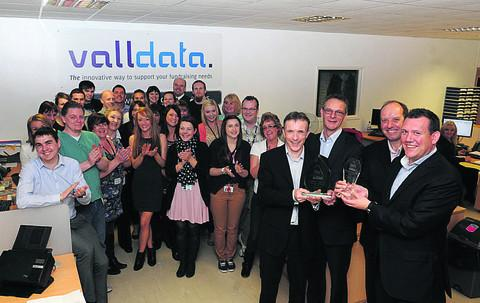 Valldata, last year's Wiltshire Business of the Year winners