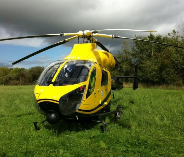 The trek has raised over £60,000 for air ambulance funds over the last two years