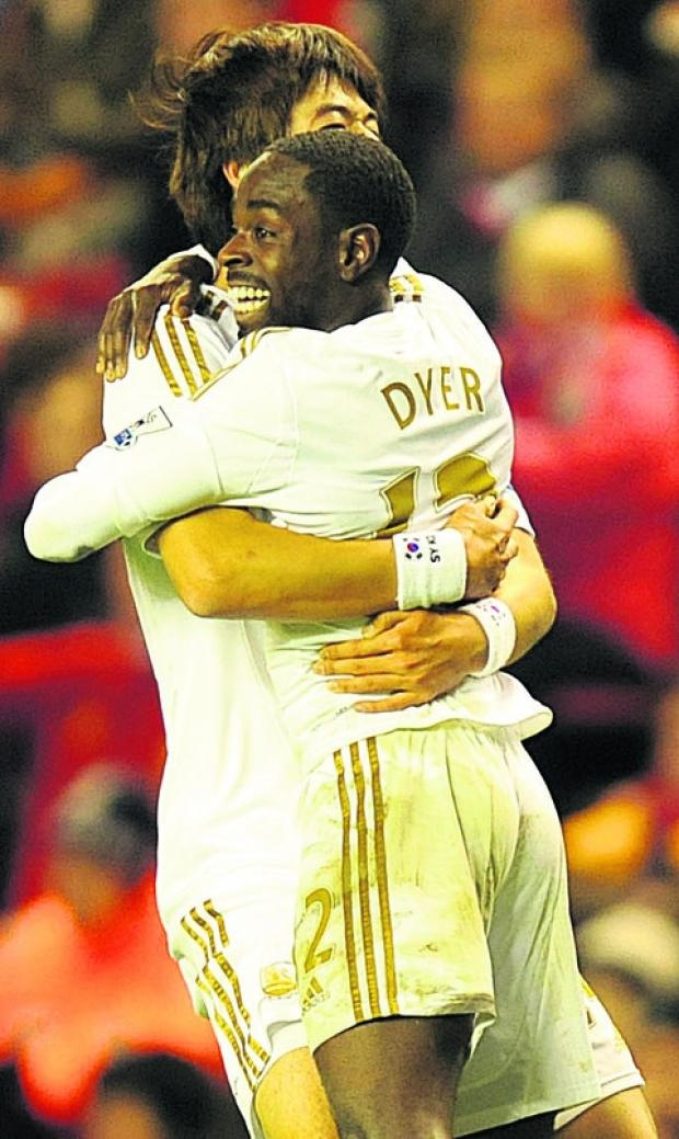 Nathan Dyer is hoping for cup glory this weekend