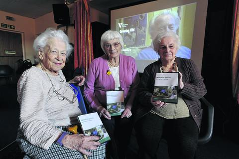 Gwendoline Hird, Pat Stevens and Peggy Hastings appear in the DVD