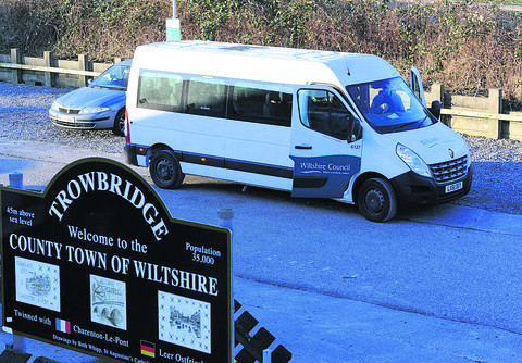 Wiltshire Council defends free staff bus service