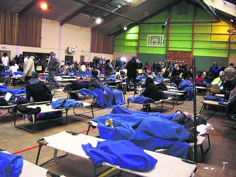 Paul Ratnett's photo of the rescue centre near Cherbourg