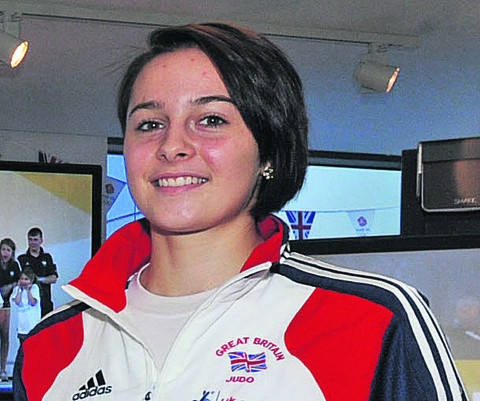 Team GB Champ Jemima Duxberry, from Devizes