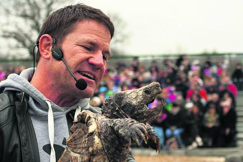 Steve Backshall at a previous Longleat show