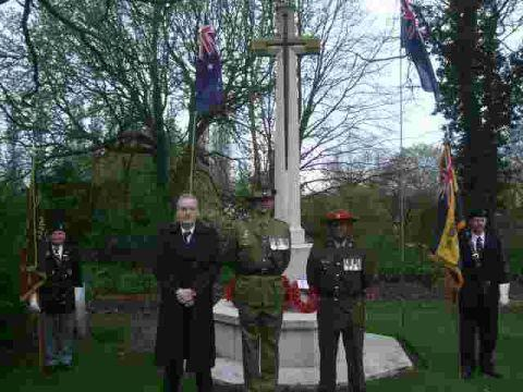 Wiltshire Times: Warminster bronze ANZAC statue 'on cards'