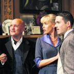 Karl Howman, Jemma Walker and Bruno Langley are isolated by a snowstorm in The Mousetrap