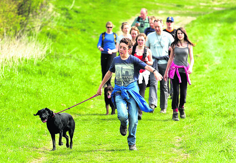 Raise cash for Wiltshire Wildlife Trust by running, walking and cycling