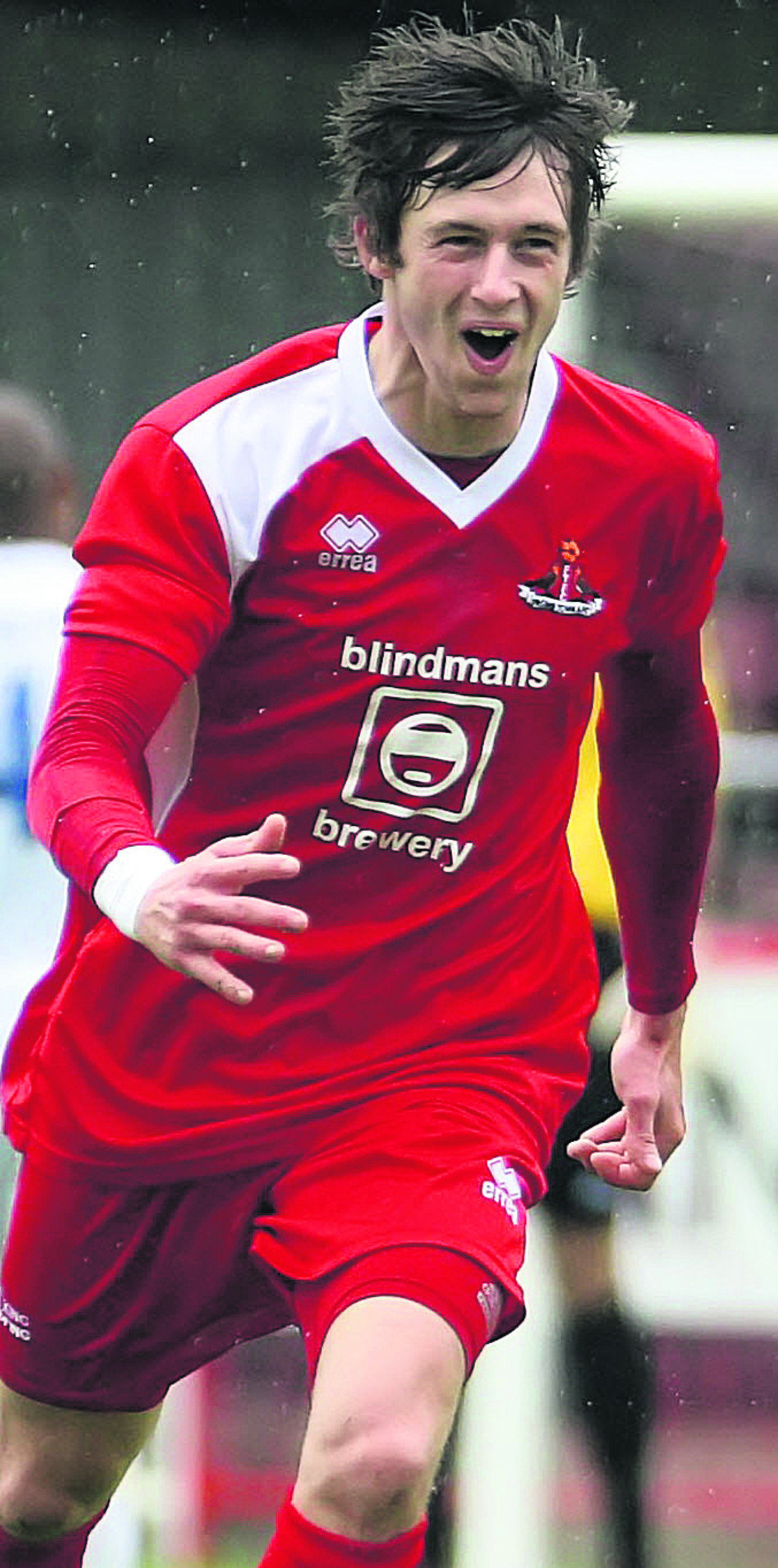 Matt Smith scored the decisive goal for Frome Town at Corby last weekend
