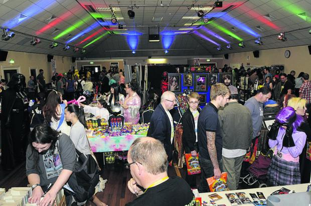 Fans at last year's Comic Con event in Melksham