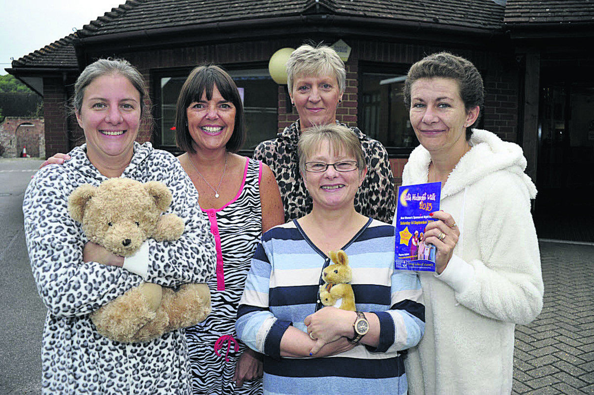 Team members from Avenue Surgery, from left, Dr Lindsay Kinlin, Kate Lindsay, Jane Oakley, Gaynor Grant and Anna Jessup