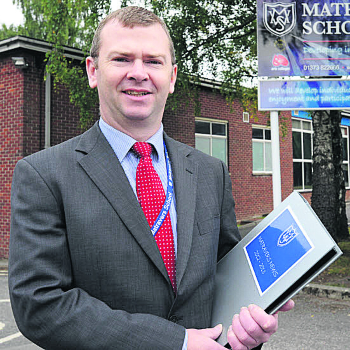 Dr Simon Riding, headteacher of Matravers School in Westbury