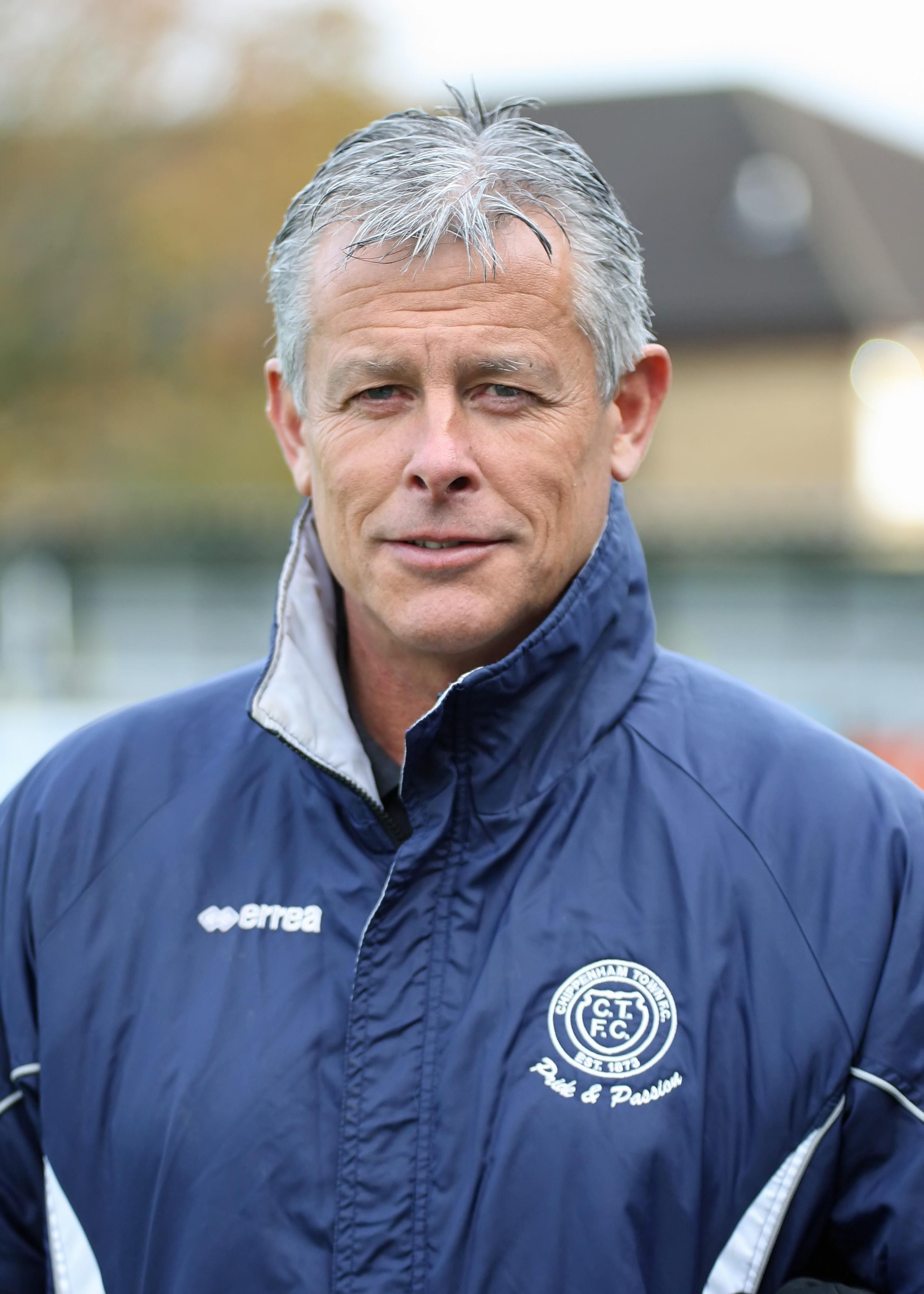 Chippenham Town manager Mark Collier