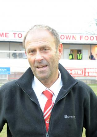Warminster Town co-boss Derek Graham