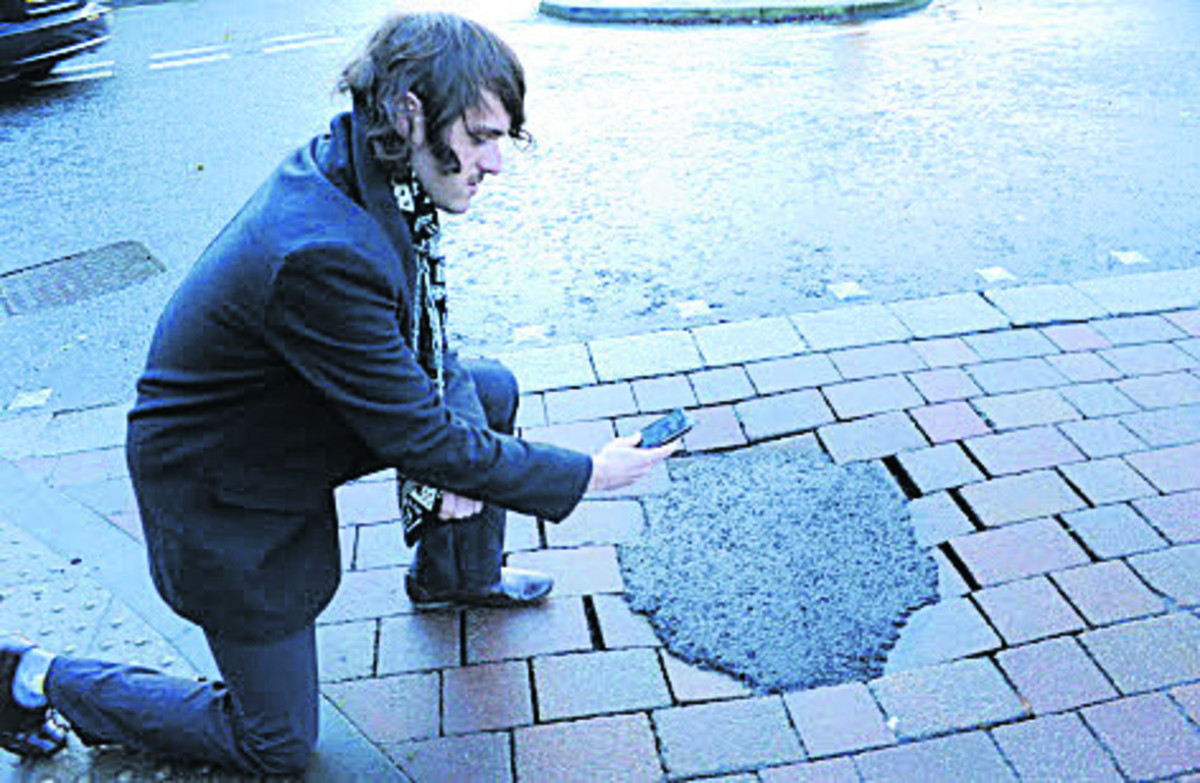 Council facing £2 million pothole repair bill