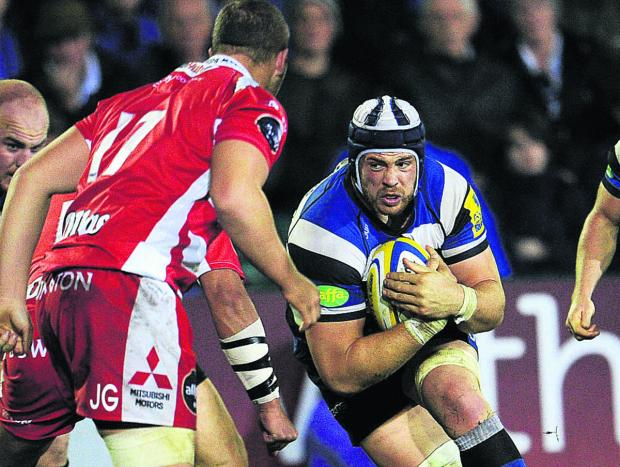 Dave Attwood returns from England duty for Bath tomorrow