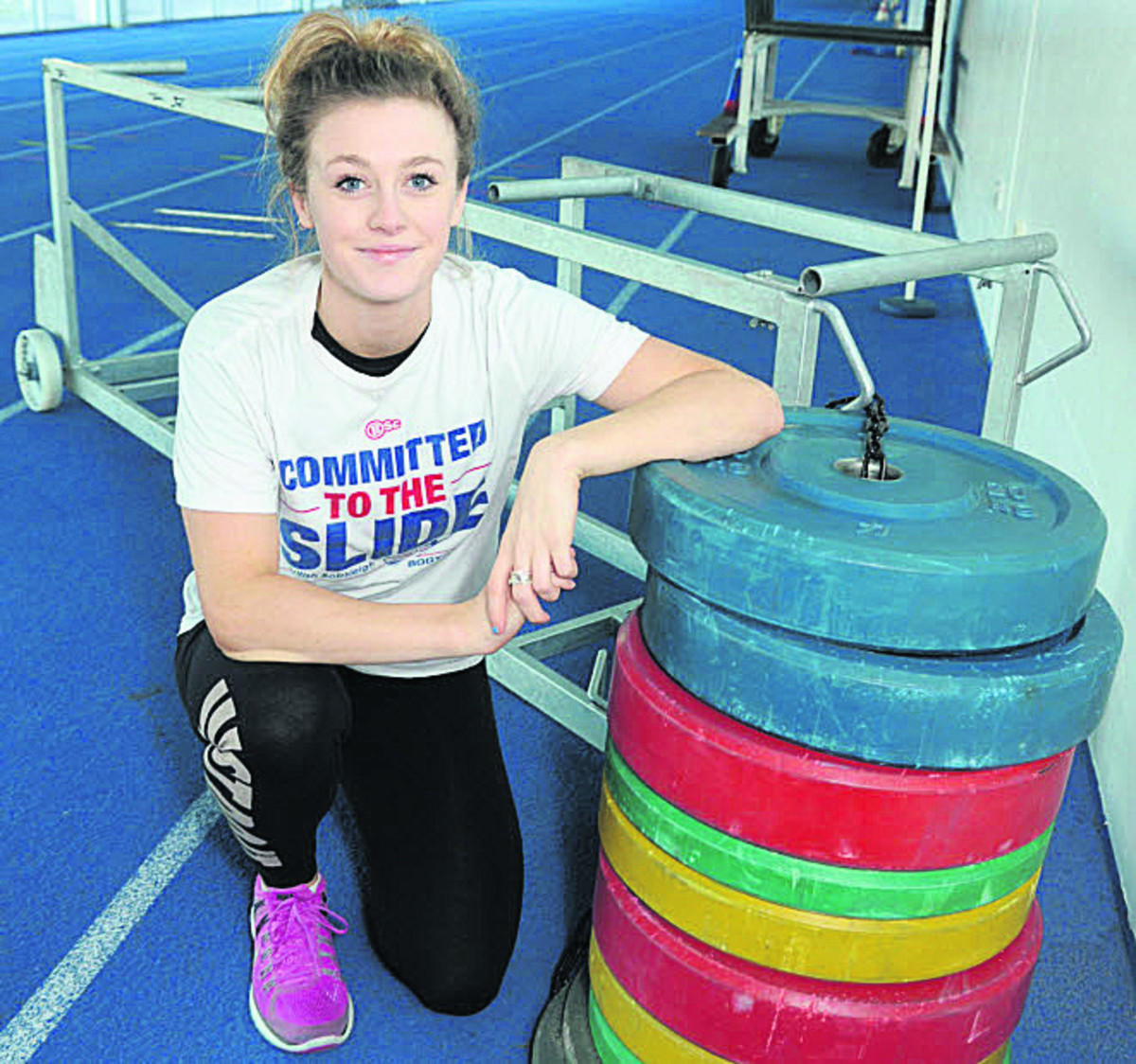 Anna Alexander-Holmes marked her competitive debut with a medal today
