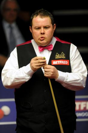 Stephen Lee, the former World No 5