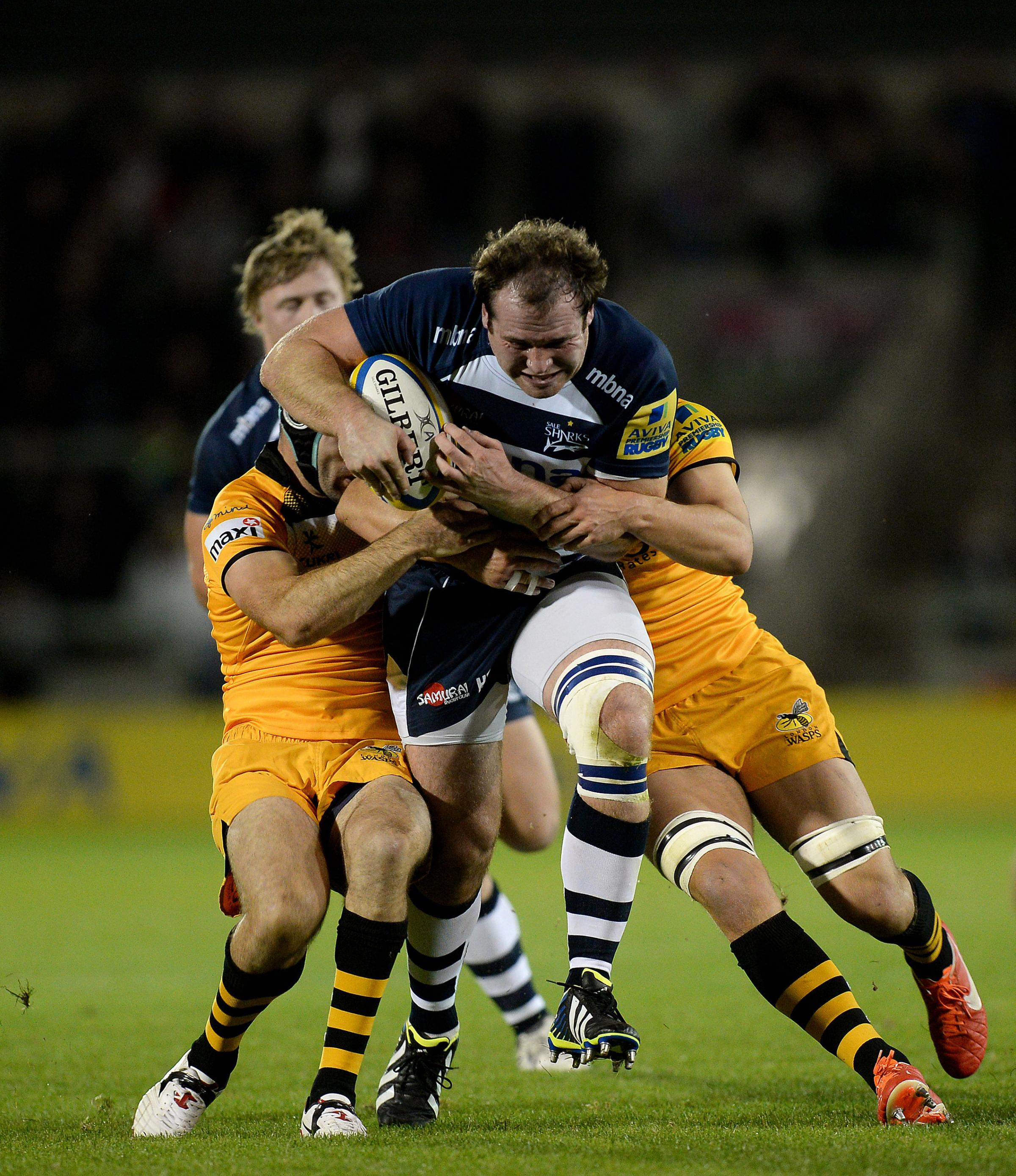 Sale Sharks prop Henry Thomas has been linked with a move to Bath next season