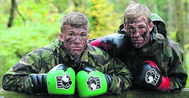 Nick Blackwell and brother Dan feature in this month's edition of Boxing Monthly, out now