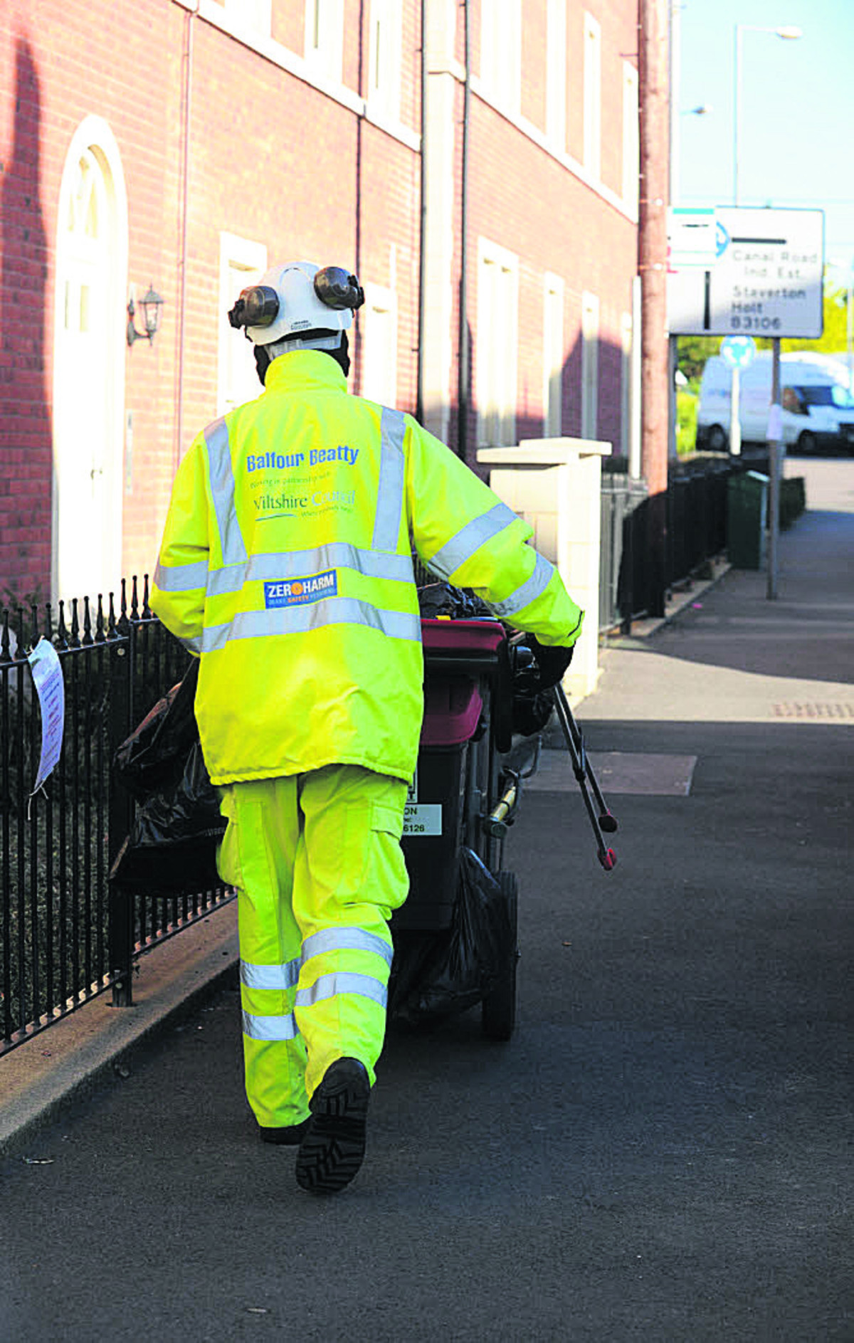 Road cleaning team to be cut from 18 to 10 as part of Wiltshire Council's £1m savings