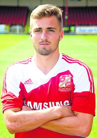 On-loan striker Mark Francis scored on his Frome debut