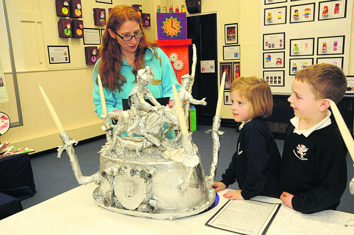Horningsham pupils' art brings historic treasures alive