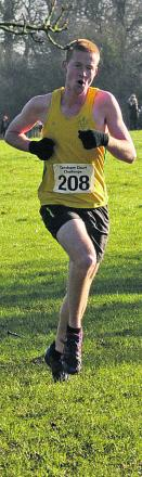 Michael Towler, of Avon Valley Runners, is