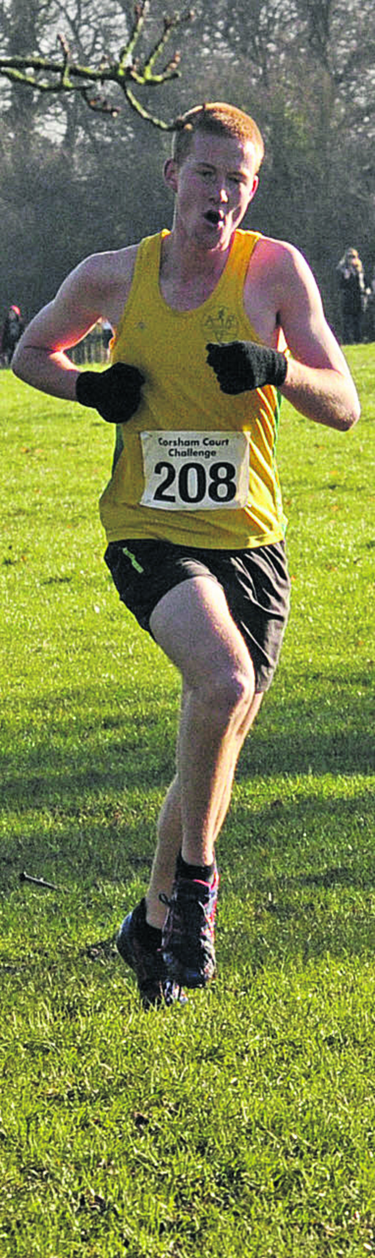 Michael Towler, of Avon Valley Runners, is nominated for male athlete of the year