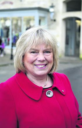 Coun Jane Scott, leader of Wiltshire Council