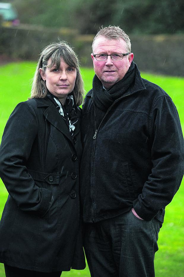 Wiltshire Times: Sean's parents Yolanda and Steve Turner say the inquest verdict is a partial victory