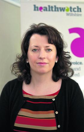 Emma Cooper, chief executive of Healthwatch Wiltshire
