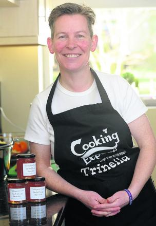 Trina Swan, who set up Tiddleywink Treats last year, started out by giving homemade jam as Christmas presents