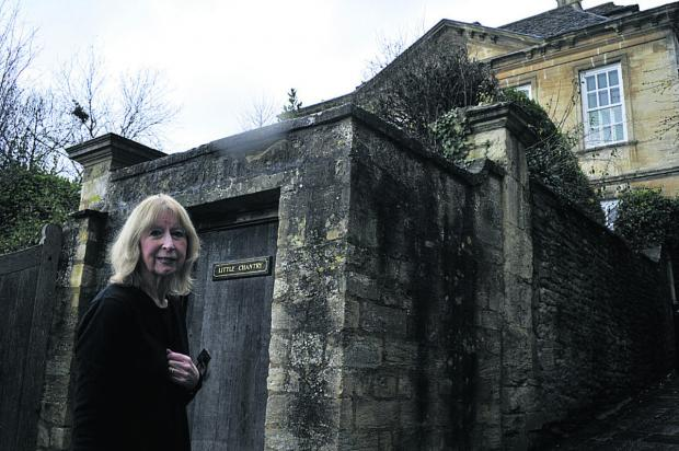 Wiltshire Times: Houseowner Carolyn Ching at her Church Street property