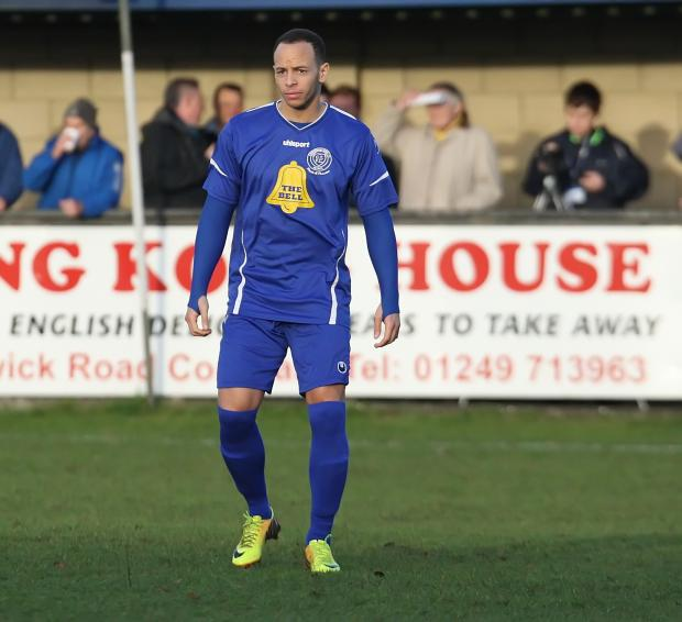 Lloyd Macklin's brief spell with Chippenham Town has come to an end