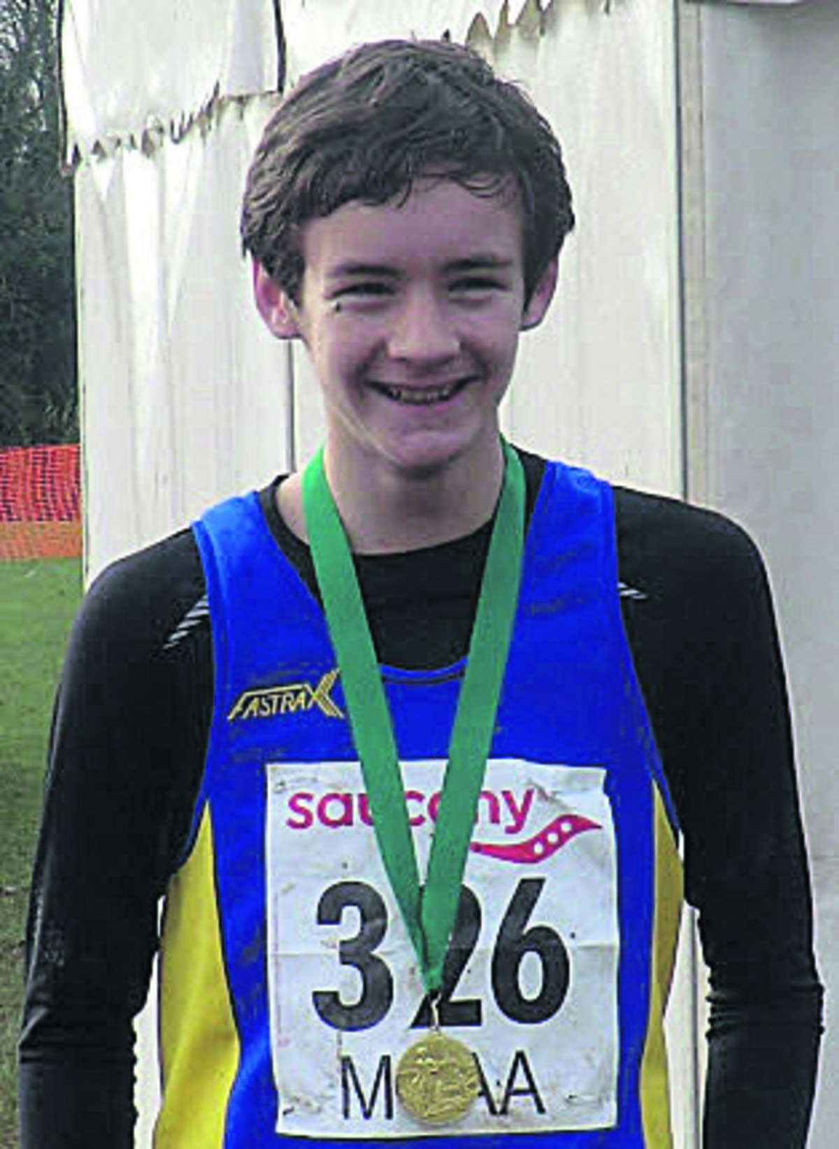 U13 winner Hayden Bailey