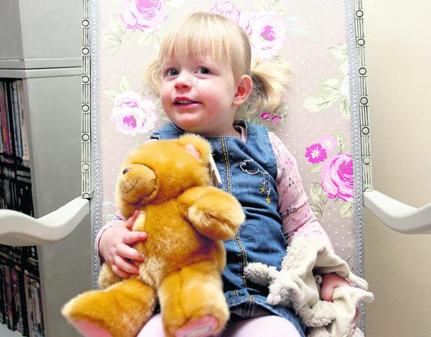 Wiltshire Times: Tale with happy ending as Brooke Little is reunited with Ted and makes friends with her new bear