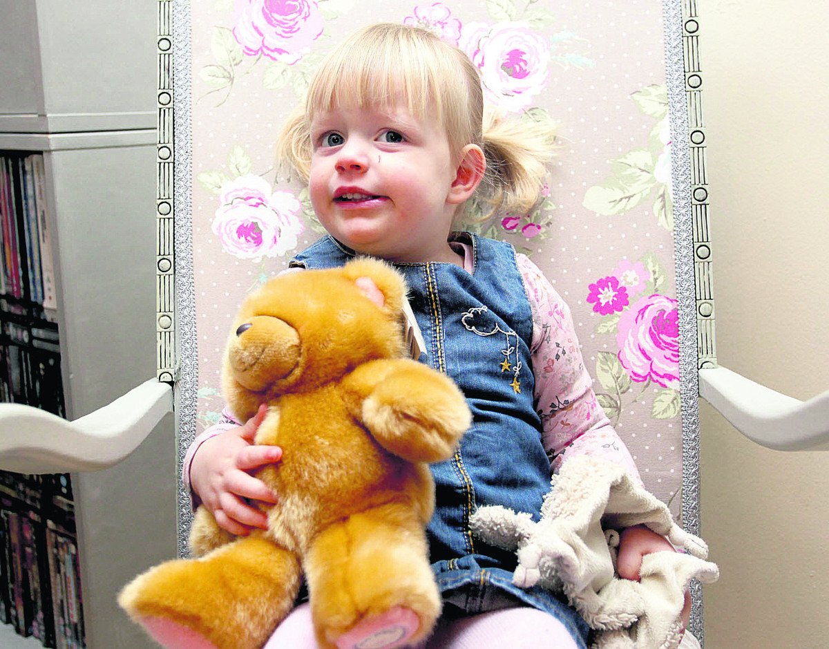 Tale with happy ending as Brooke Little is reunited with Ted and makes friends with her new bear