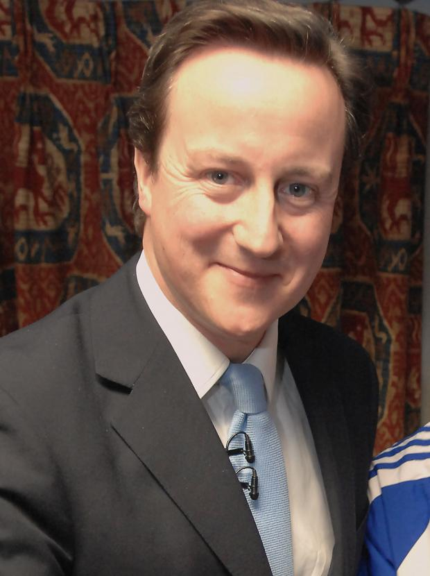 Wiltshire Times: David Cameron has recognised the St Vincent de Paul Society