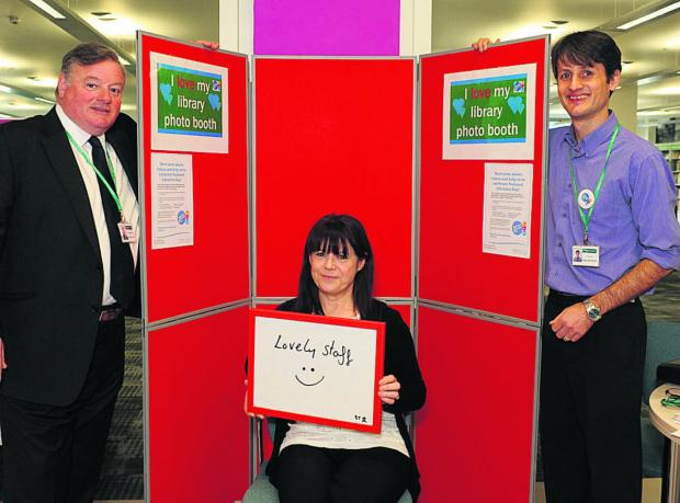 Wiltshire residents show their love for libraries