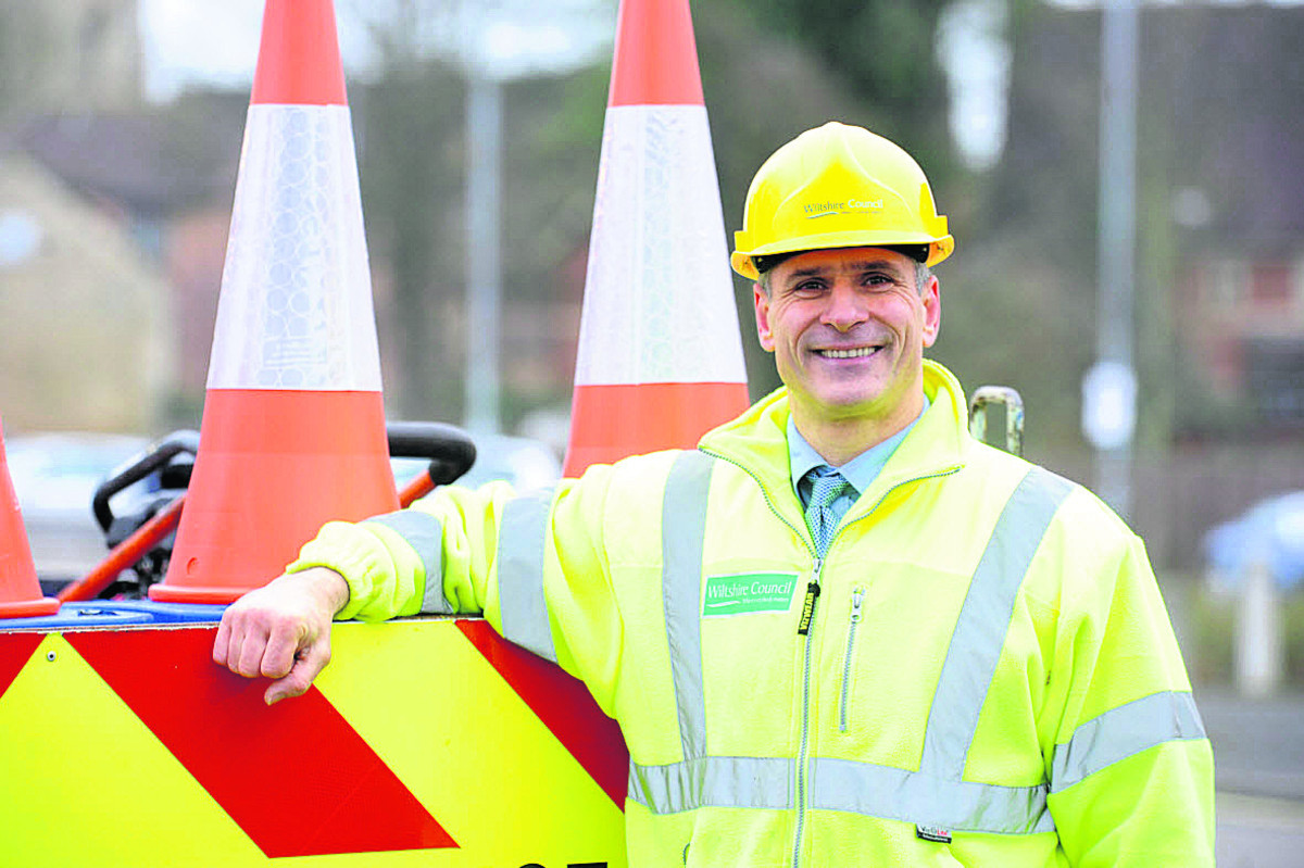 A winter of torrential rain has increased the strain on crews responsible for fixing potholes