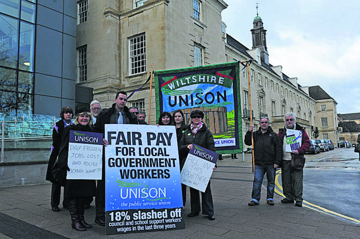 Campaigners protest decision to keep raise