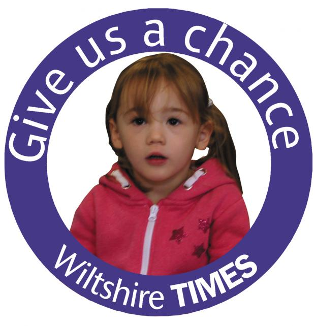 Wiltshire Times: You can do your bit to help the Wiltshire Times' Give us a chance appeal