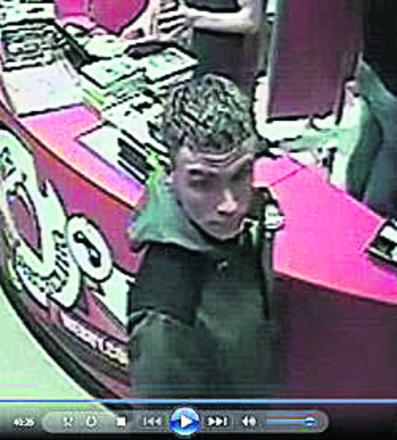 Police want to speak to this man in connection with counterfeit notes being used in shops in the Chippenham and Corsham area