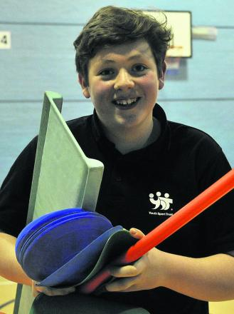Young Warminster volunteer Kieran Strong is a finalist in the national vInspired Awards