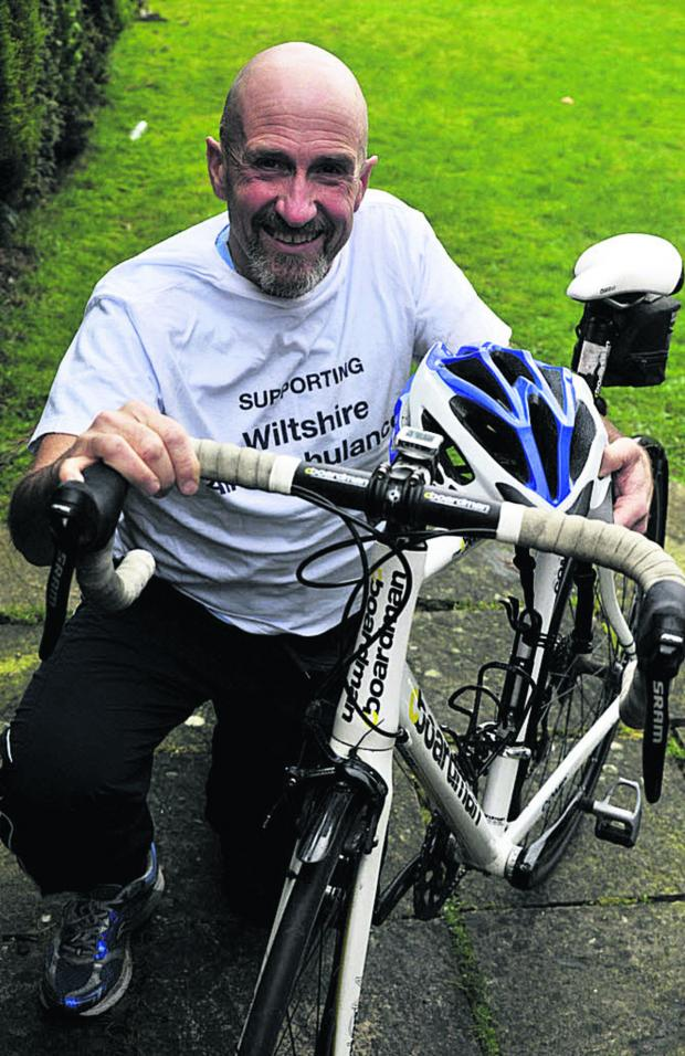 Wiltshire Times: Tom Stokes is competing in the Rat Race City to Summit event in Scotland to  raise money for the Wiltshire Air Ambulance
