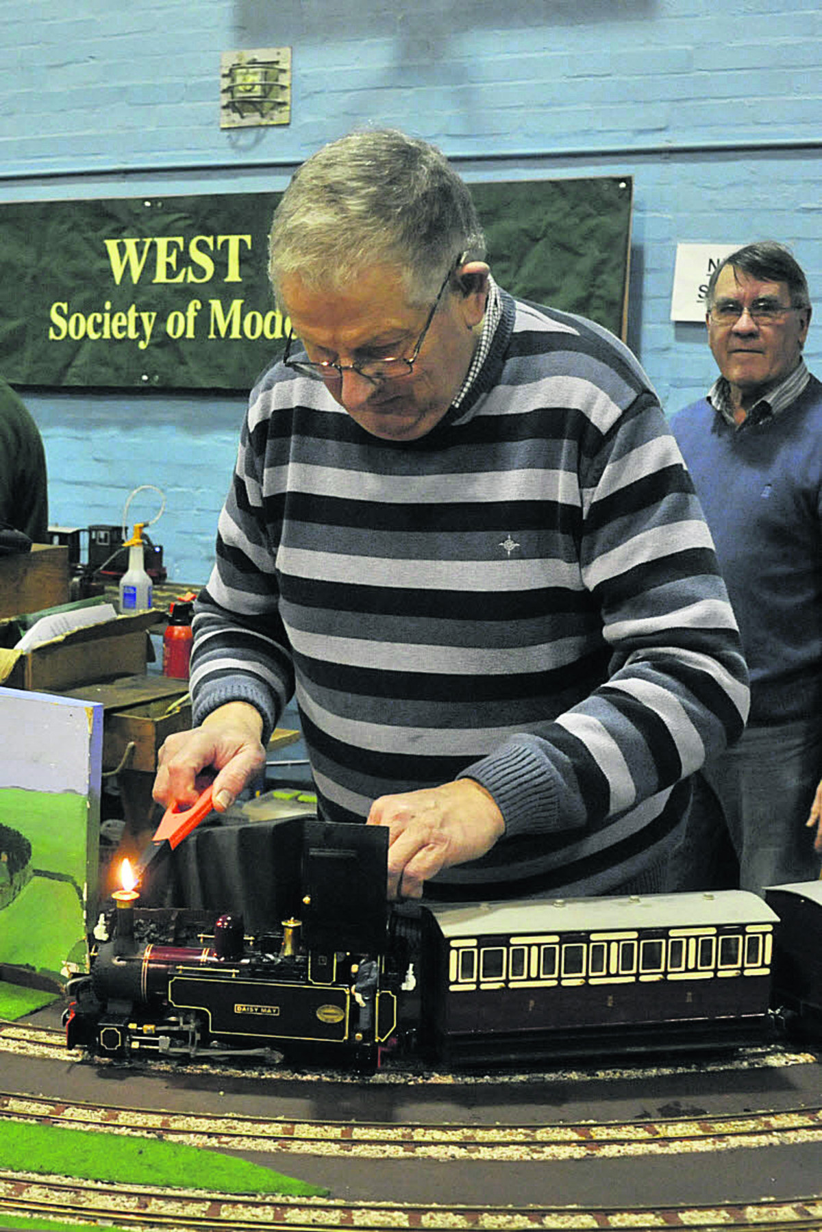 Rail fun had by all at Warminster model exhibition