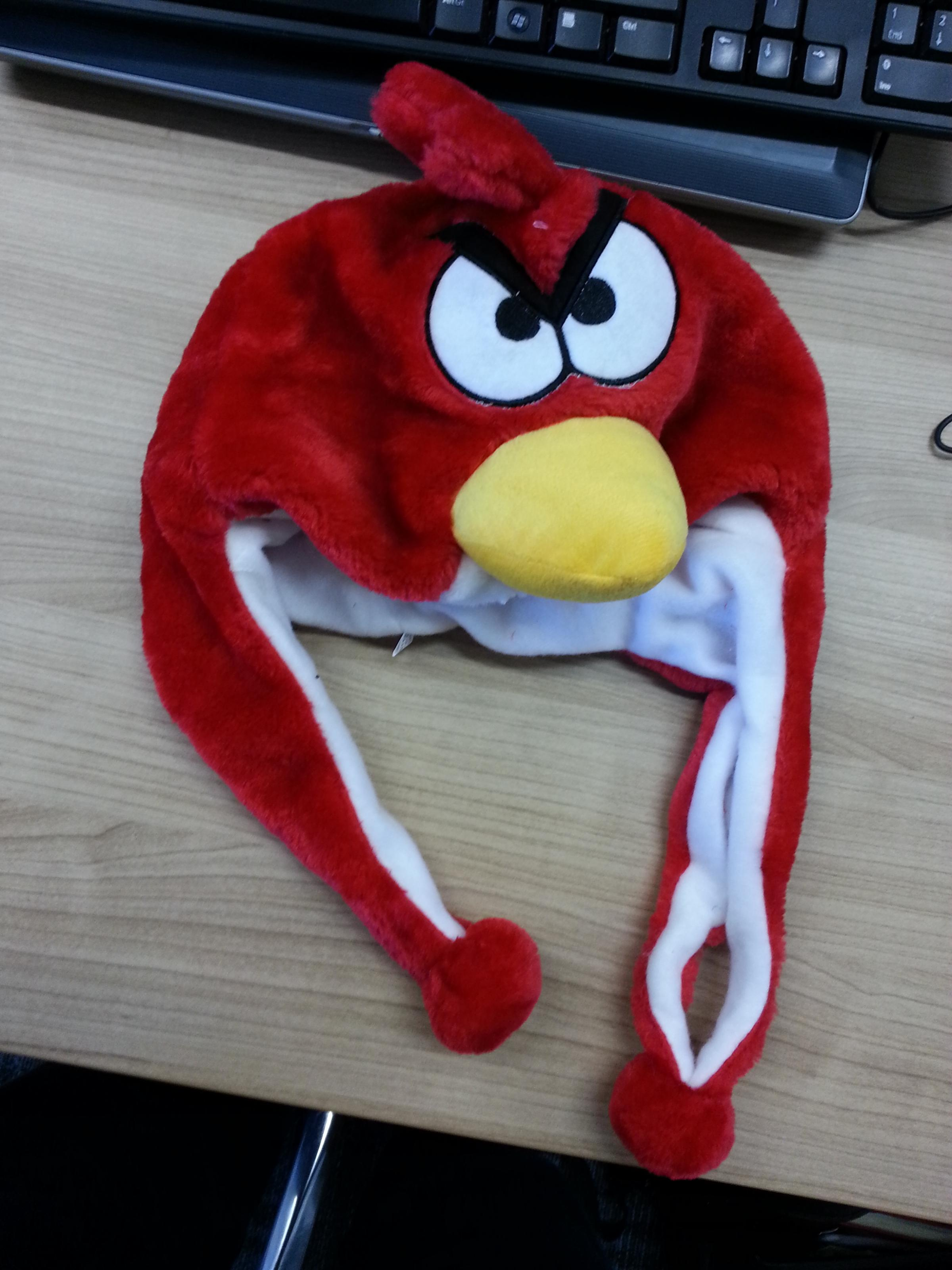 One of the hats, which has been seized by trading standards officers at Trowbridge and Salisbury markets