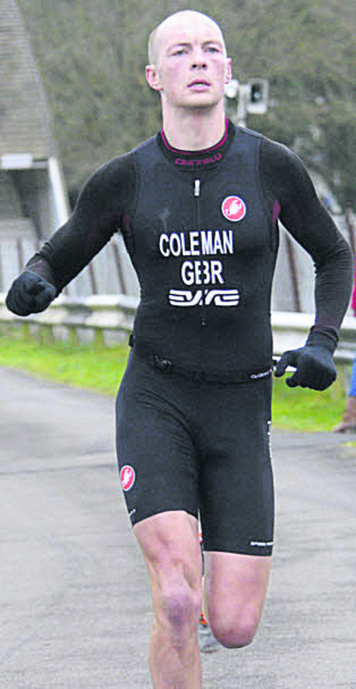 DUATHLON: Coleman burns off his rivals with Chilly triumph